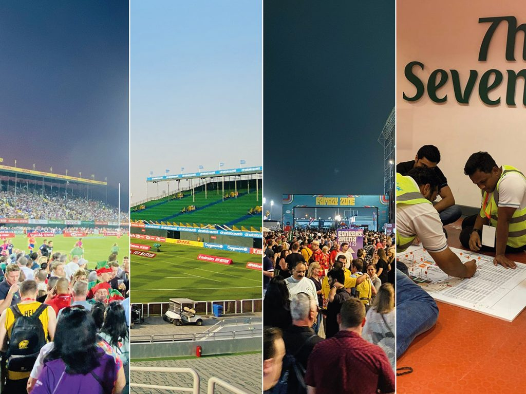 Emirates Rugby Sevens outdoor event